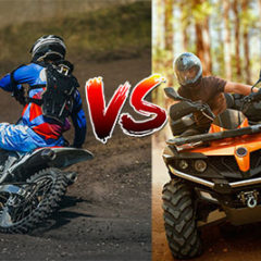 Dirt Bike VS ATV - Which one is more dangerous?