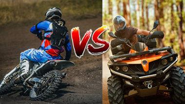 Dirt Bike VS ATV - Which one is more dangerous?