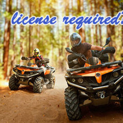 License required for Dirt Bike or ATV ?