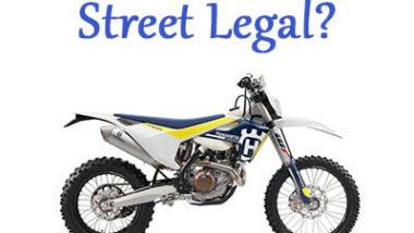 Street Legal Dirt Bikes