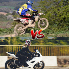 Street Bike vs Dirt Bike