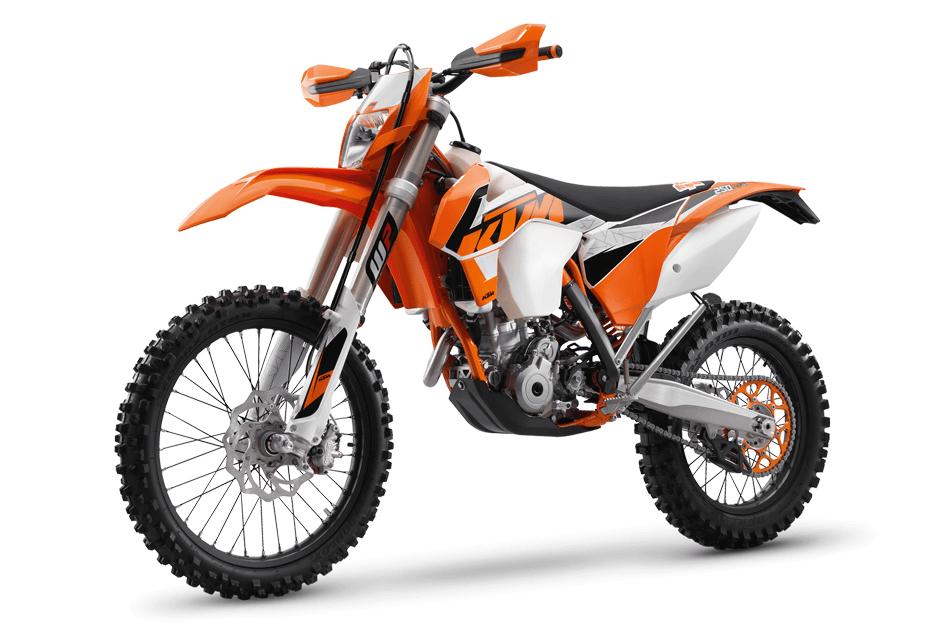 XTM 250 rider
