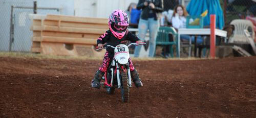 Kid on a Dirt Bike