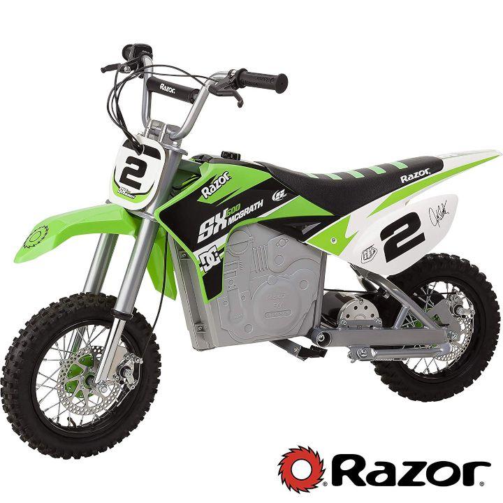 Razor SX500 dirt bikes for kids